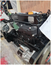 Дизельный Двигатель Komatsu (Yanmar) 4TNE98